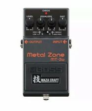 Boss MT-2W Waza Craft Metal Zone Distortion Electric Guitar Effect Pedal!