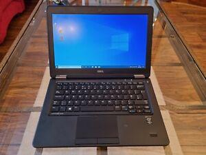 Dell Latitude E7250 120GB SDD, Intel Core i5, 4GB RAM - Windows 10 - O365 Laptop