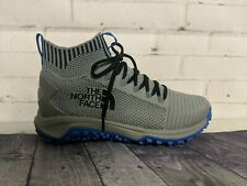 The North Face Truxel Mid Hiking Shoes Griffen Grey Monster Blue Men's Size 10
