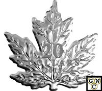 2015 The Canadian Maple Leaf Shaped Prf $20 Silver Coin 1oz .9999Fine(NT)(17413)