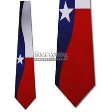 Texas Flag Tie Lone Star Mens Neck Ties Brand New