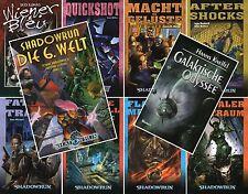 Bundle-9 x SHADOWRUN-LECTOR MUNDIAL DEL LIBRO + Galáctico Odisea-ciencia-ficción