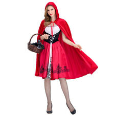 Ladies Deluxe Little Red Riding Hood Book Week Fairytale Dress Up Costume
