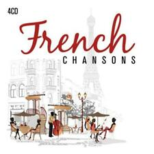 CD French Chansons de various artists 4cds