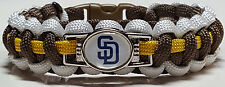 San Diego Padres Paracord Bracelet OR Lanyard OR Key Chain