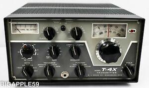 Drake T-4X AM SSB CW Amateur Radio Transmitter ***GREAT CLASSIC UNIT***