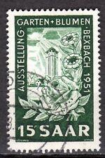 Germany / Saarland - 1951 Garden exhibition - Mi. 307 FU