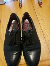 COLE HAAN NikeAir Men's Lace Up Oxfords Size 10 M Black Leather Dress Shoes