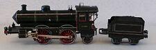 Märklin oder Bing D.1021 Lokomotive und Tender  Uhrwerk funktioniert S1 (K474)