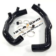 "For BMW 135i 335i 535i Z4 3.0L turbocharge N54 2"" Inlet Silicone Pipe Black"