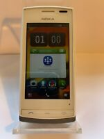 Nokia 500 - White (Unlocked) Smartphone Mobile Fully Working & Tested