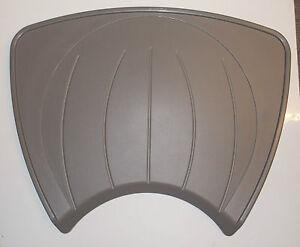 Grey draining drainer board for Swift Sterling Abbey caravan circular sink CSD1