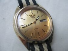 Seiko Gold Automatic Vintage Gents Watch FWO Excellent Condition