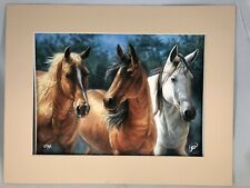 New ListingBeautiful Horses - Art - Signed / limited Edition - Cory Carlson