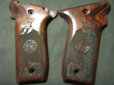 Smith Wesson .22LR VICTORY Chkrd/Floral Rosewood Pistol Grips w/S&W Logo NEW!