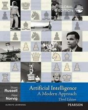 Artificial Intelligence: A Modern Approach by Stuart Russell, Peter Norvig (Paperback, 2016)