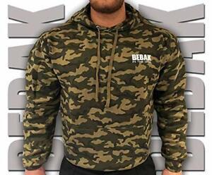 Hoodies for Men |  BEBAK CAMO Gym Clothes For Men Bodybuilding Hoody Sweatshirt