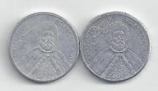 2 HIGH DENOMINATION 1000 LEI COINS from ROMANIA DATING 2001 & 2002