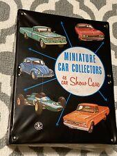 Mattell Miniature Car Collectors 48 Car Show Case Vintage 1966 Very Nice!