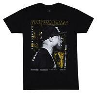 UFC Mens Floyd Mayweather Faceoff Boxing MMA T-Shirt - Black