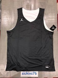 Nike JORDAN TEAM MEN'S REVERSIBLE PRACTICE JERSEY Sz 2XL [AR4317 061]
