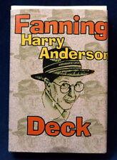 Harry Anderson Fanning Deck, ein Spezialset um Rückenmuster zu schlagen