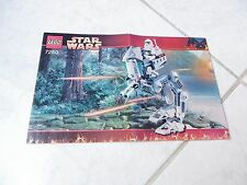 Lego Star Wars 7250 notice only instructions recette