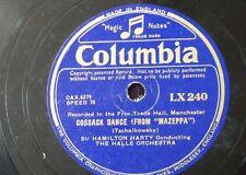 """78 Rpm 12"""" Halle Orq Cosaco Danza-Mazeppa/Mengelberg Perpetuum Mobile Strau"""