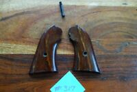 Ruger Bearcat Early Type Grips W/ Screw Rosewood Wood Old Model