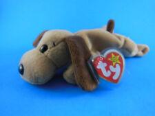 Beanie Babies Beanbag Bones Dog 1993 MWT Unused Stored in Zip Lock Bag RARE
