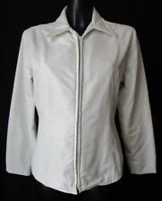 TRUSSARDI Jeans GIACCA Jacket TG.L colore tonalità Avorio   #S