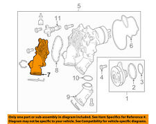 MERCEDES OEM 16-18 G550 Cooling System-Water Pump Inlet 1772003800