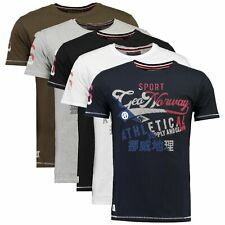T-shirt Geographical Norway Jeal Uomo 100% cotone maglia manica corta SR002H-GN