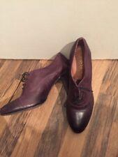 Gorgeous Soft Purple Leather Shoe Boots Jones Bootmaker Size 7