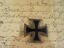 Nachlass: EISERNES KREUZ 1.KLASSE 1813, Friedrich Georg Ludwig Freiherr von Gayl