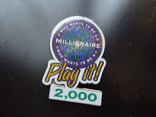 Disney Trading Pins  4564 Who Wants to Be a Millionaire: Play it! Set (2000 Poin
