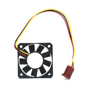 Fan 40x40x10mm Mini Cooling fan 12V Motor Engine Cooler Black 3Pin Connector