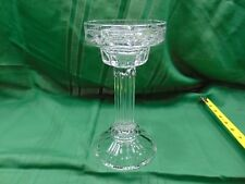 Shannon Crystal Tall Pillar LARGE Candle Holder