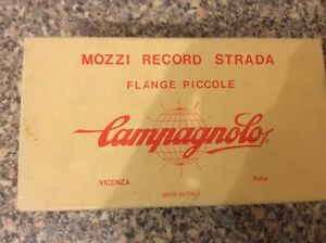 Campagnolo Vintage Mozzi Record Strada Hubs