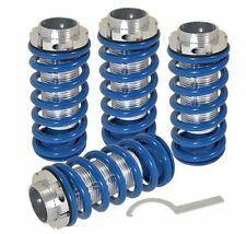 98-02 Honda Accord Jdm Scaled Adjustable Coilover Lowering Spring Sleeves Blue