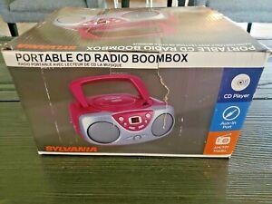 Sylvania SRCD243M CD/Radio Boombox