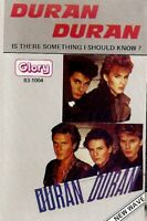 Duran Duran  Is There Something I Should Know? Import Cassette Tape