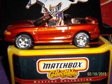 1995 FORD MUSTANG SVT COBRA: VHTF Diecast LQQK;) Premiere Matchbox Collectibles!