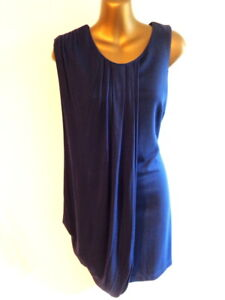 Marks & Spencer Limited Colection 12  Navy Grecian style BNWT dress  (2231