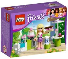 Lego Friends Set 3930 Stephanie's Outdoor Bakery Cakes Milk Oven Minifigure NISB