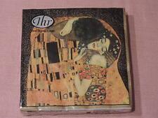 1 Packung 20 servietten Der Kuss Kunst gustav Klimt  paket pvp neu Menschen