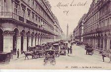 CPA 75 1917 PARIS La Rue de Castiglione