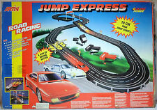 ARTIN VTG 90's JUMP EXPRESS FERRARI RACE SET SLOT CAR TRACK SEALED CONTENTS HUGE