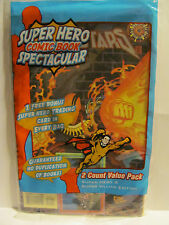 Super Hero Comic Book Spectacular   # 10  value pack   **New in Pack**