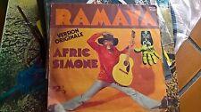 """7""""  AFRIC SIMONE RAMAYA PIRANHA ITALY 1973 EX"""
